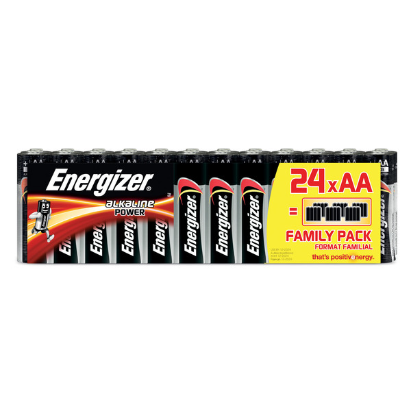 "Energizer Alkaline ""Power"" Batterie Mignon AA, 24er-Pack"