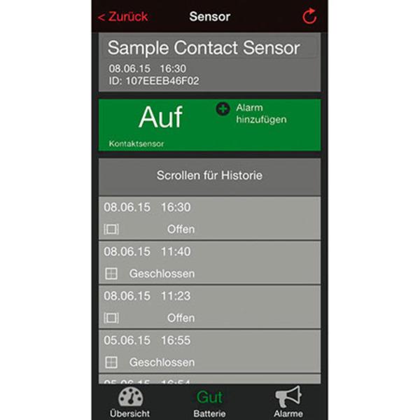 ELV Mobile Alerts Fensterkontakt MA10800, 5er-Set