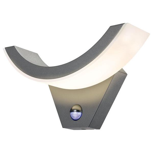 esotec Swing 9-W-Sensor-LED-Wandleuchte mit Bewegungsmelder