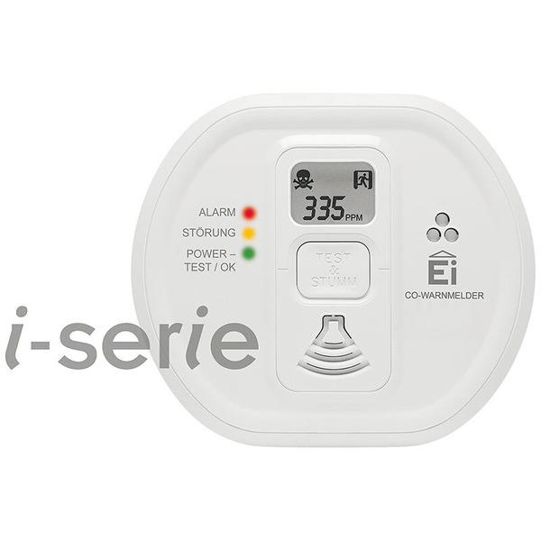 Ei Electronics Kohlenmonoxidwarnmelder Ei208iDW mit Display - AudioLINK, i-serie, 10 Jahres-Batterie