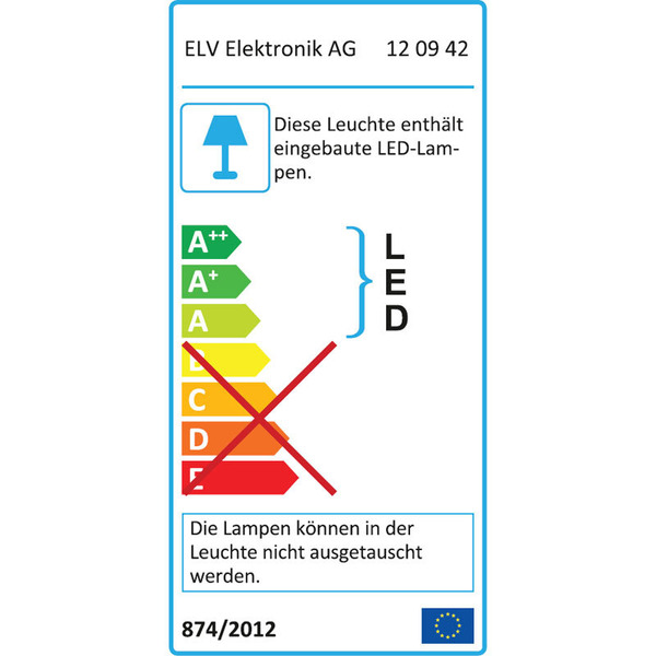 ELV AS2400 36-W-LED-Baustrahler