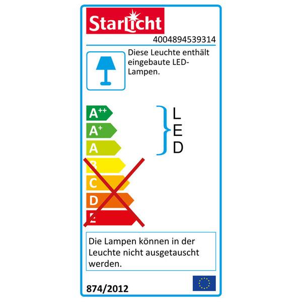 Müller Licht STARLED Senzo 30 4-W-LED-Unterbauleuchte, mit IR-Sensor, weiß