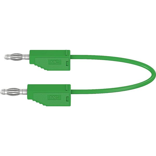Silikon-Verbindungsleitungen LK425-A/SIL 4 mm, 30A, 0,5m, grün