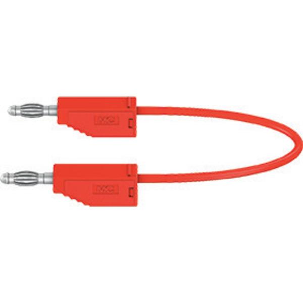 Silikon-Verbindungsleitungen LK425-A/SIL 4 mm, 30A, 1m, rot