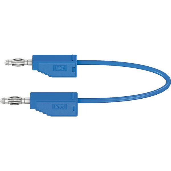 Silikon-Verbindungsleitungen LK425-A/SIL 4 mm, 30A, 2m, blau
