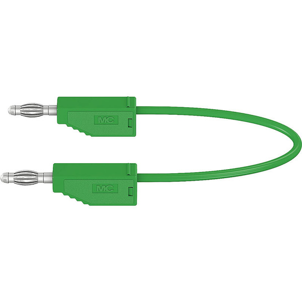 Silikon-Verbindungsleitungen LK425-A/SIL 4 mm, 30A, 2m, grün