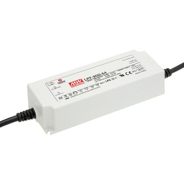 Mean Well Netzteil LPF-90D-24, 90W, 24V DC, 3,75A, IP67 mit Dimmfunktion