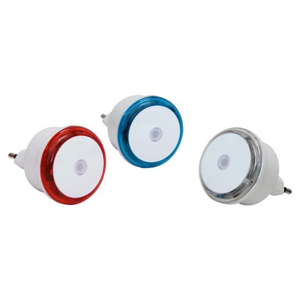 Velleman 3er Set LED-Nachtlichter mit Dämmerungssensor
