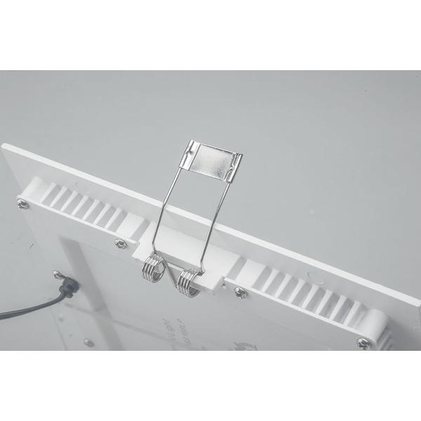 ELV LP885 15-W-LED-Einbaupanel quadratisch, warmweiß