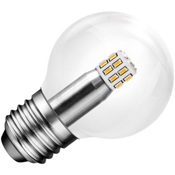 LEDGalaxy 2,8-W-LED-Tropfenlampe E27, warmweiß