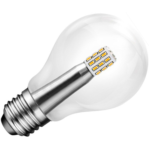 LEDGalaxy 4,5-W-LED-Lampe E27, warmweiß