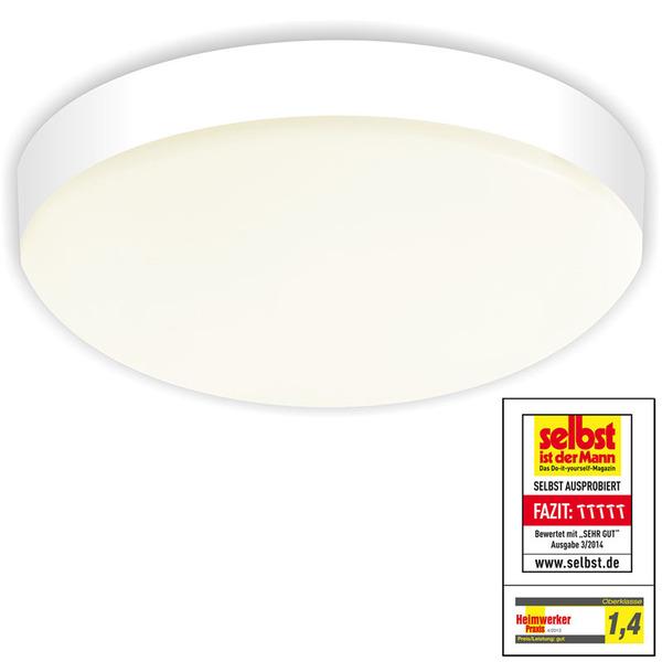 Visolight D280 21-W-LED-Wand-/Deckenleuchte, warmweiß