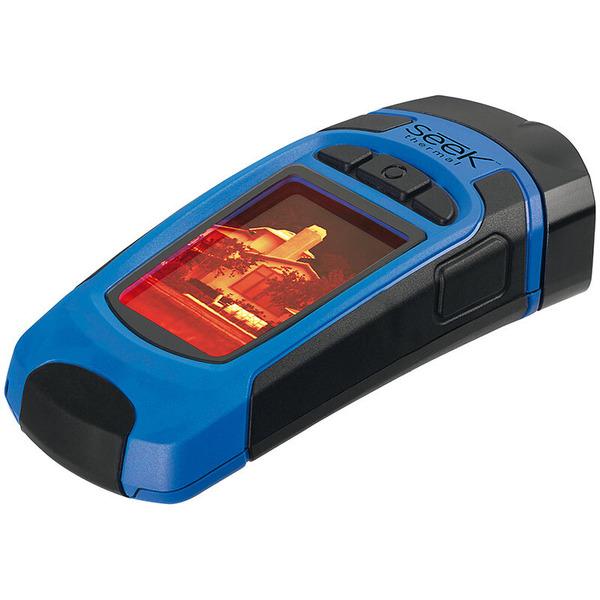Seek Thermal Wärmebildkamera mit integrierter Taschenlampe und Micro-SD Karte