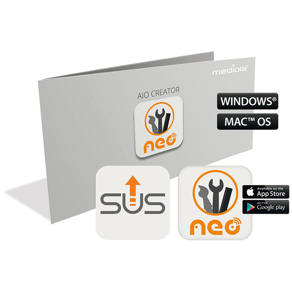 mediola AIO CREATOR NEO Plugin AIO Gateways SUM-4100-b (inkl. 12 Monate Subscription Update Service)