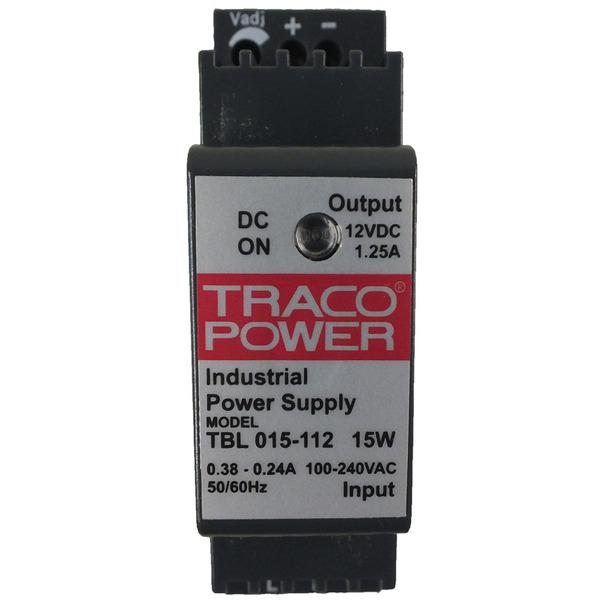 Tracopower DIN-Hutschienennetzteil 15W, 12V, 1,25A
