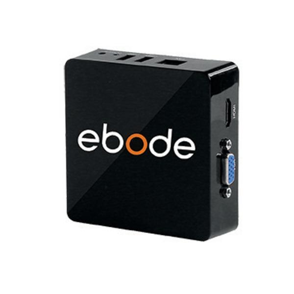 ebode 4 Kanal IP-Videorecorder Mini-NVR, HD