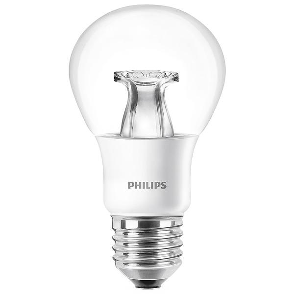 Philips MASTER LEDbulb 6-W-LED-Lampe E27, warmweiß, klar, dimmbar