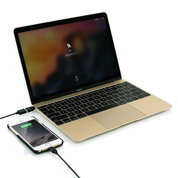INCIPIO USB-3.1-Adapter PW-249-BLK, C-Stecker auf A-Buchse, schwarz