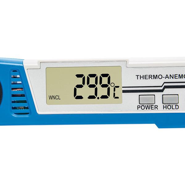 ELV Hand-Windmesser MWM-100, mit Temperaturmessung
