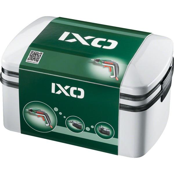 Bosch IXO Drill Mini-3,6-V-Li-Ion-Akkuschrauber in Metallverpackung, 1,5 Ah