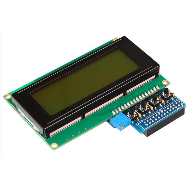 "Raspberry Pi Display 10,5 cm (4,1""), mit 4 Buttons für Raspberry Pi"