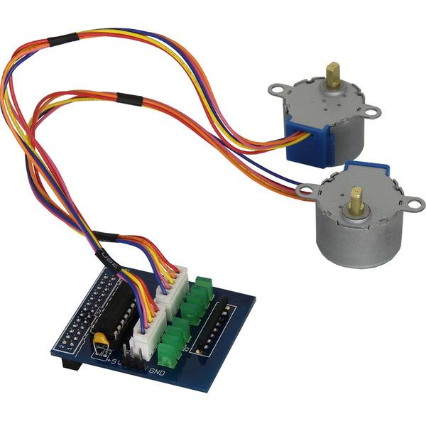 Amerry Motorsteuerung für Raspberry Pi inkl. 2 Schrittmotoren