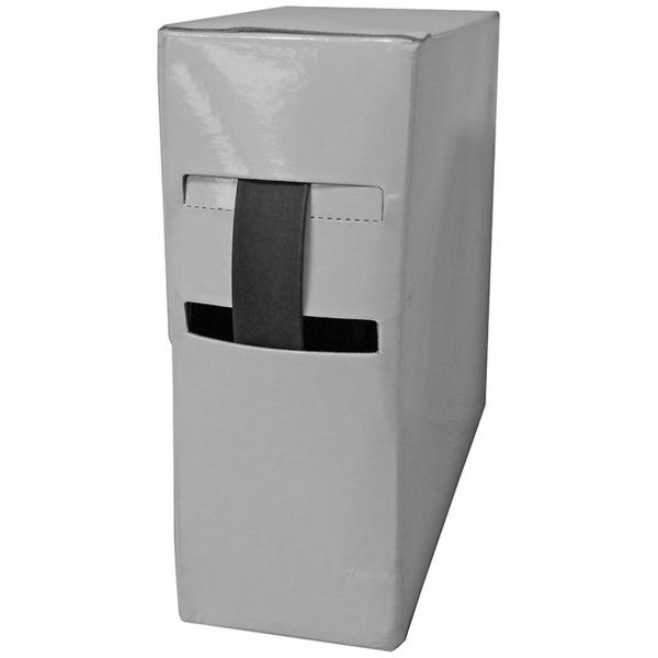 Schrumpfschlauch-Box, schwarz, 20 m, Durchmesser 1,2 mm