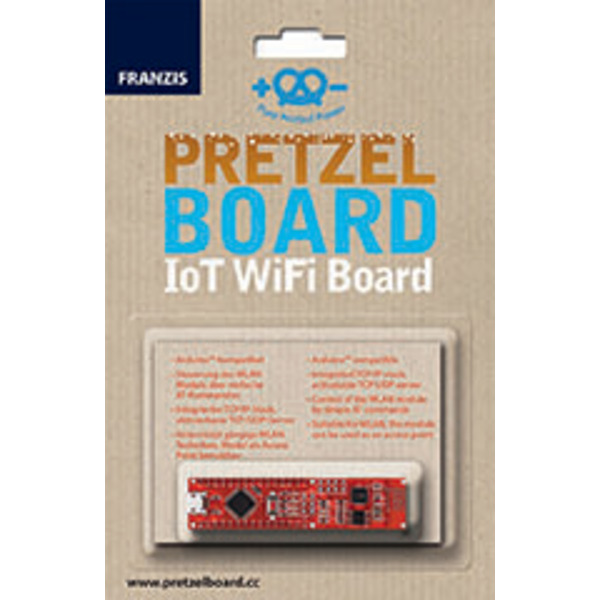 FRANZIS Arduino Pretzel Board, IoT WiFi Board
