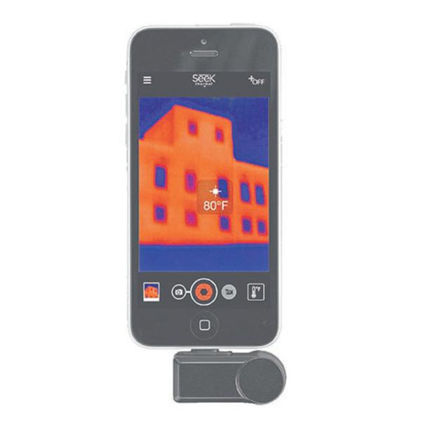 Seek Thermal Compact Wärmebildkamera mit Lightning Anschluss für iPhone, iPad, iPod touch LW-EAA