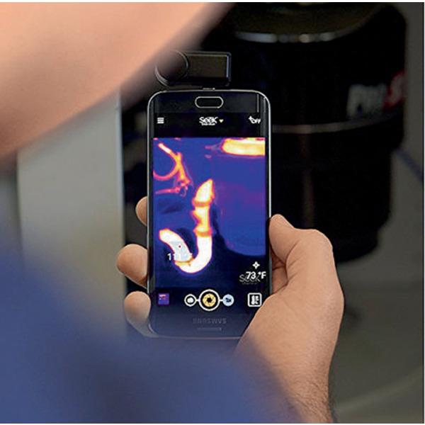 Seek Thermal Compact XR - Extended Range Wärmebildkamera mit Lightning Anschluss