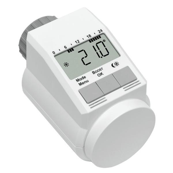 Eqiva Model L Elektronik-Heizkörperthermostat mit Boost-Funktion, 3er-Set