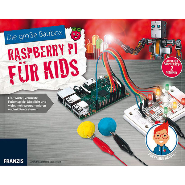 FRANZIS Baubox Raspberry Pi für Kids
