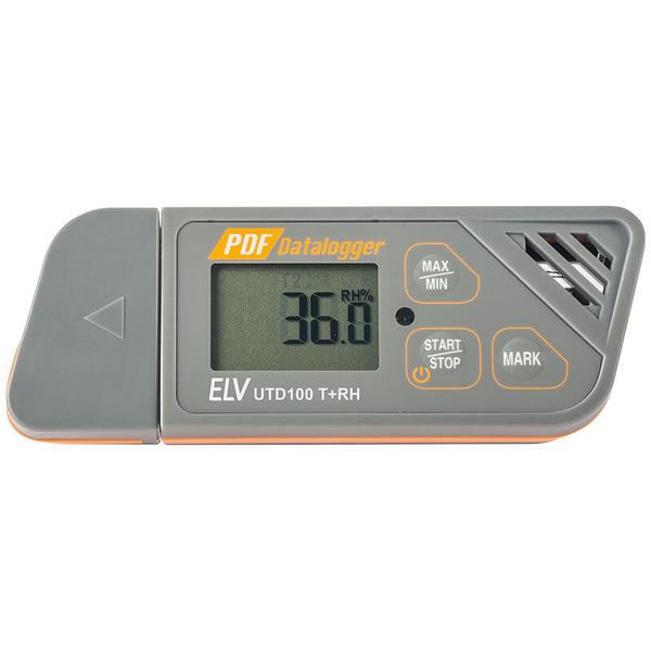 ELV Multifunktions USB-Datenlogger Temperatur/Luftfeuchte UTD100