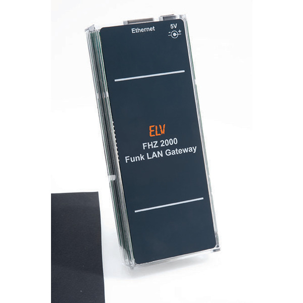 ELV FHZ 2000 + Homeputer CL + Homematic ARR-Bausatz Zentrale CCU2