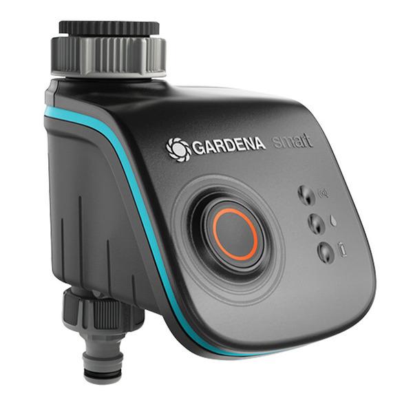 GARDENA smart system Starterset mit Gateway, Funk-Bewässerungscomputer und Funk-Bodenfeuchtesensor