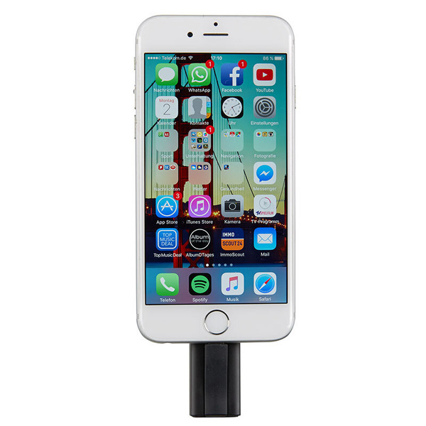 Intenso USB-Stick iMobile Line, USB- und Apple-Lightning-Anschluss, 32 GB
