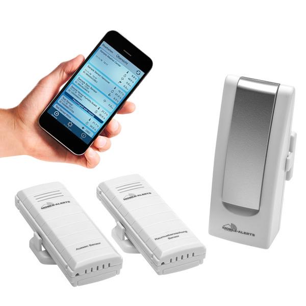 ELV Mobile Alerts Temperatur-/Luftfeuchteüberwachungs-Set MA10012, gibt Handlungsempfehlung