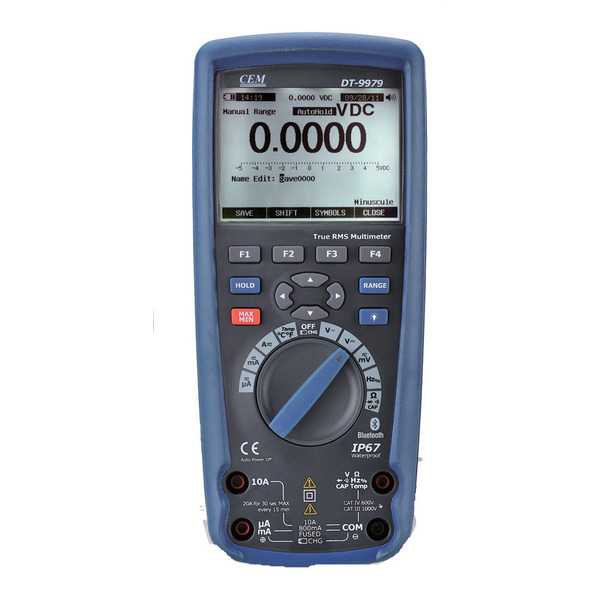 CEM Digital Multimeter DT-9979 mit AC True RMS-Messung