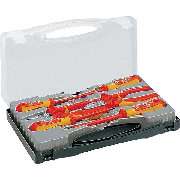NWS VDE-Werkzeugbox, 7-teilig