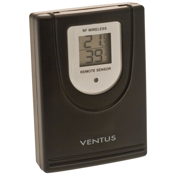 Ventus Zusatz-Thermo-Hygrosensor W044 für Funk-Wetterstation W177, W155, W160 und W194
