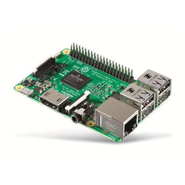 Raspberry Pi 3 Mini-Linux-PC, 1 GB, inkl. WLAN und Bluetooth 4.1, komplett montiert und betriebsbere