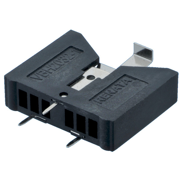 Renata Batteriehalter VBH2032-1, vertikal, 1x Lithium-Knopfzelle CR2032