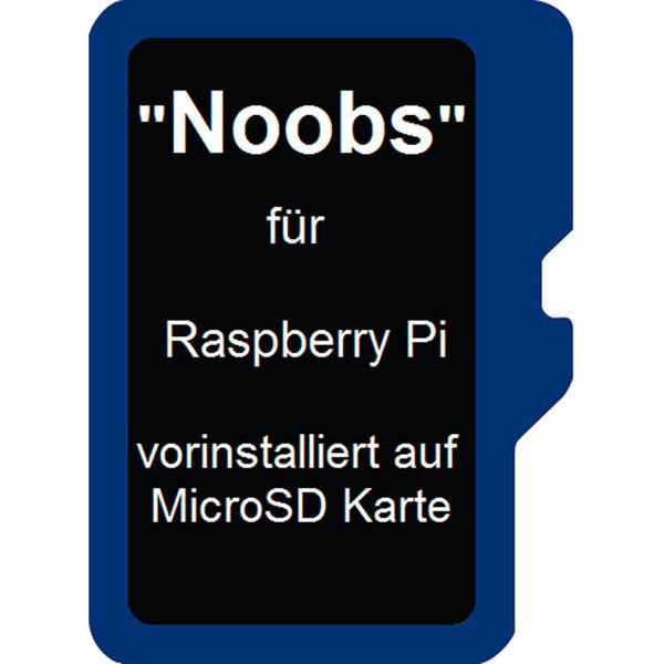 Noobs Betriebssystem für Raspberry Pi 3, auf microSD-Karte