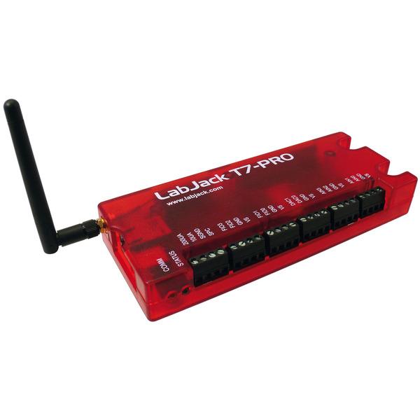 Meilhaus Mini-Messlabor, USB, Ethernet, LabJack T7-PRO