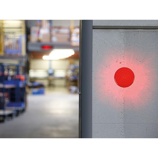 LED-Blitzlicht, rot, 12 V DC