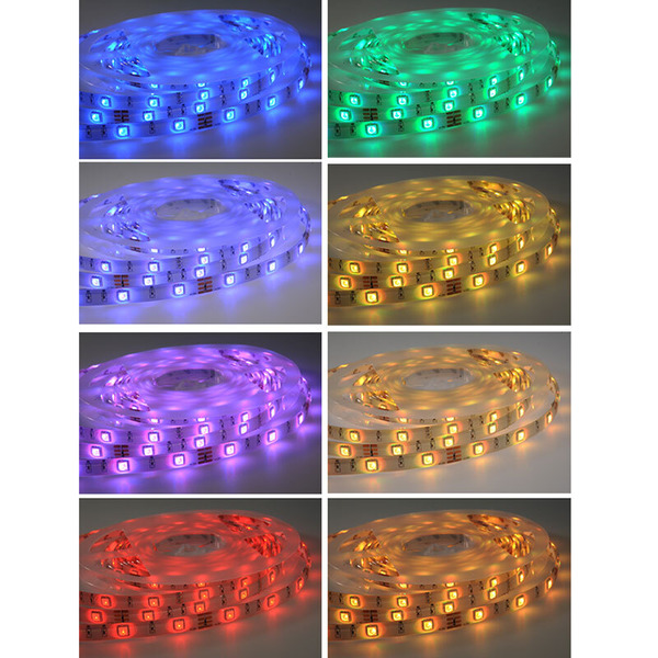 ELV 5-m-RGB-LED-Streifen flexibel, Komplett-Set