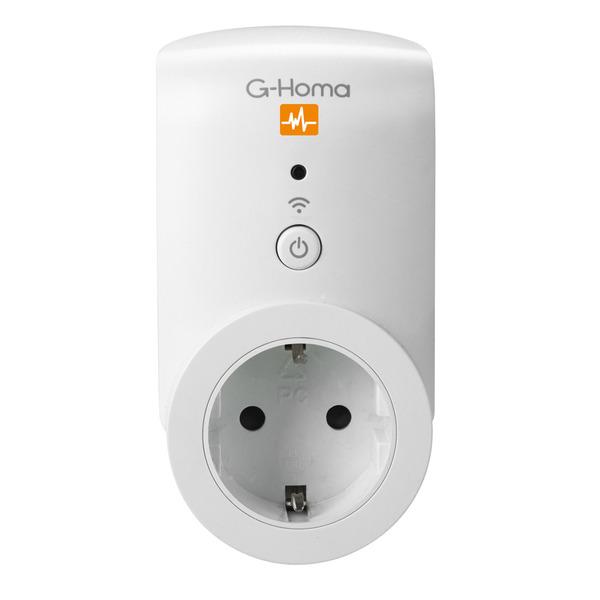 G-Homa WiFi-Funkschaltsteckdose mit Energiemessfunktion