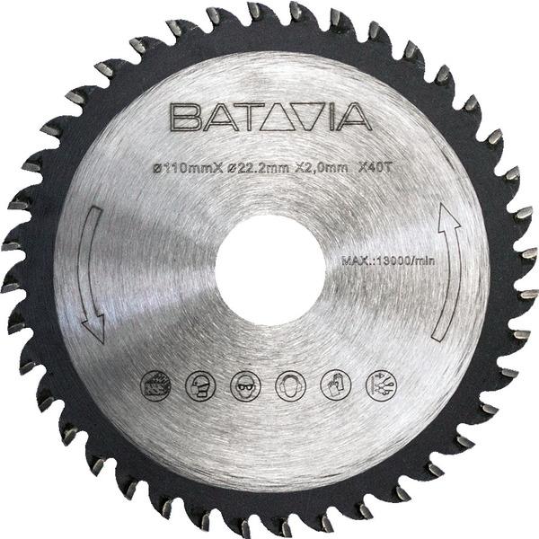 Batavia TCT-Sägeblatt für T-Raxx Compact Tauchsäge
