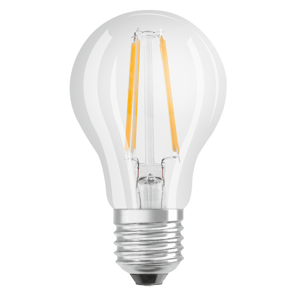 OSRAM LED RETRO Glass Bulb 6,5-W-LED-Lampe E27, klar, dimmbar