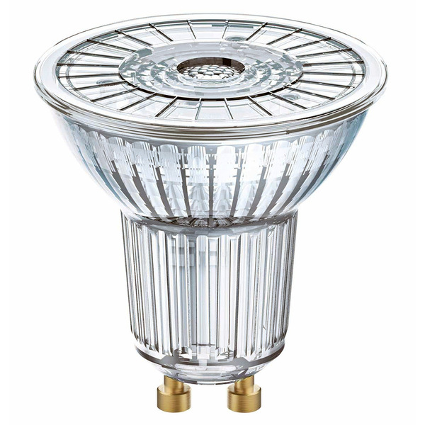 OSRAM LED SUPERSTAR 5,5-W-GU10-LED-Lampe, warmweiß, dimmbar, mit Glas-Reflektor